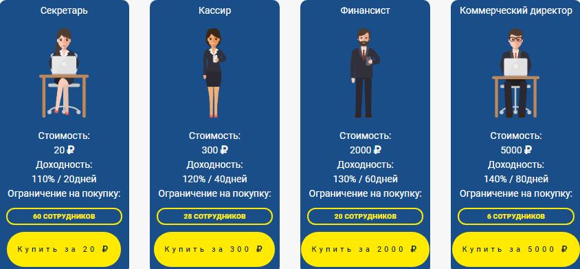 Officemoney - Акционный персонал