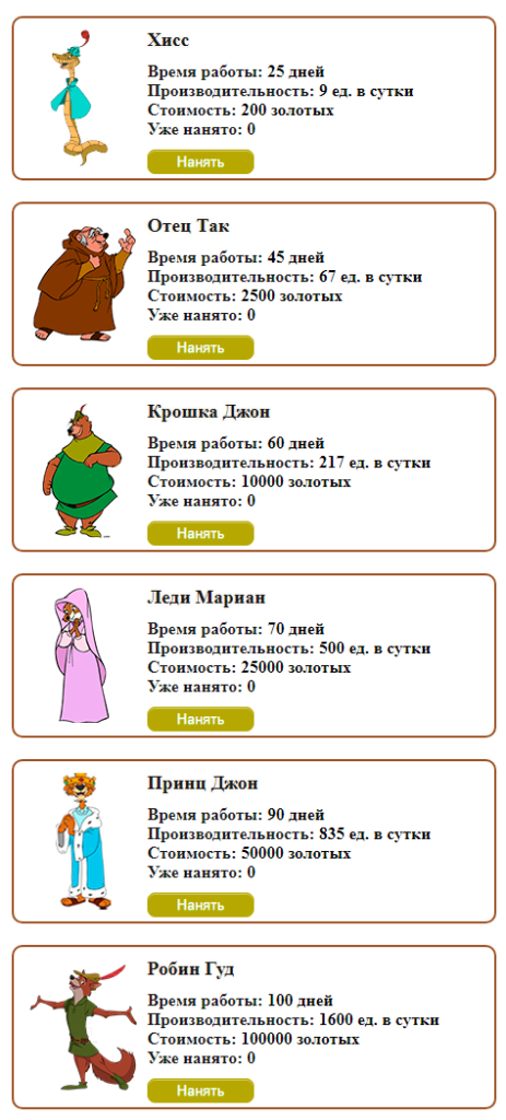 Merry Robin Hood - gamesrobin.com маркетинг игры