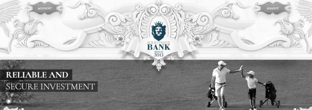 Solidtradebank - Перспективный низкодоходный проект