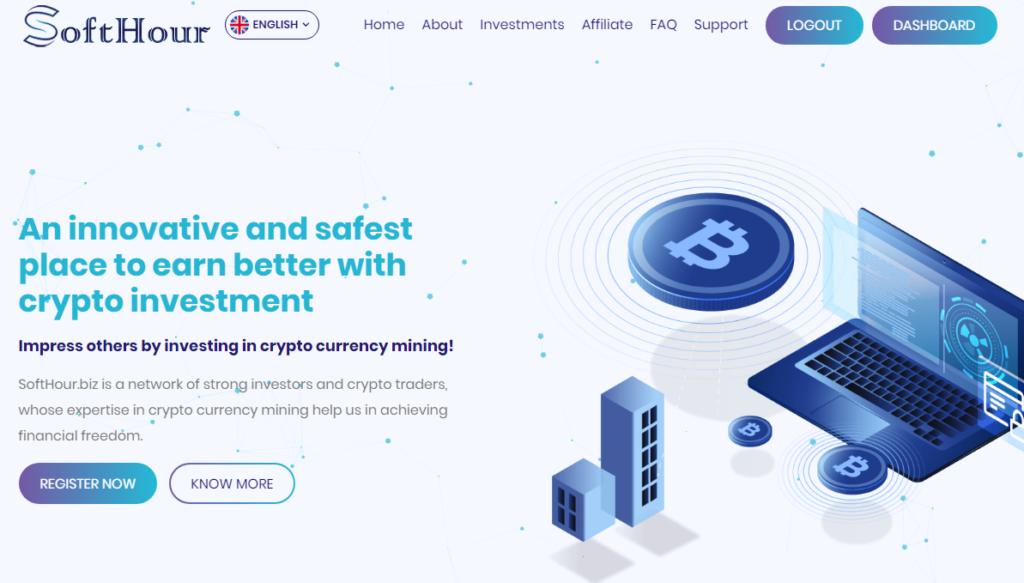 Softhour - Инвестиционный проект softhour.biz