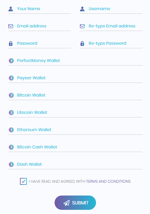 Softhour - регистрация на проекте