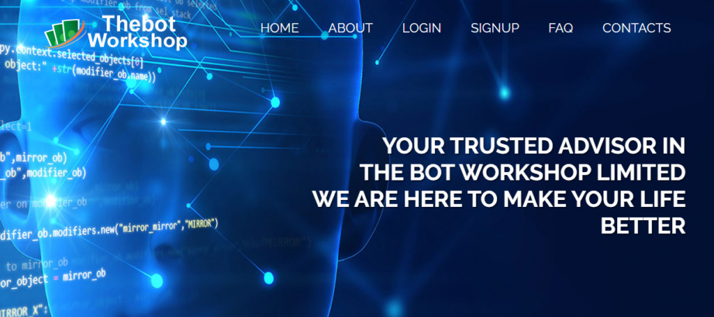 Thebotworkshop - Среднедоходный хайп проект