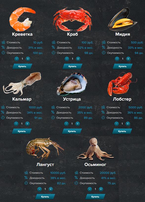 Seafood Money - Маркетинг игры