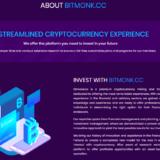 Bitmonk - Среднедоходный хайп проект