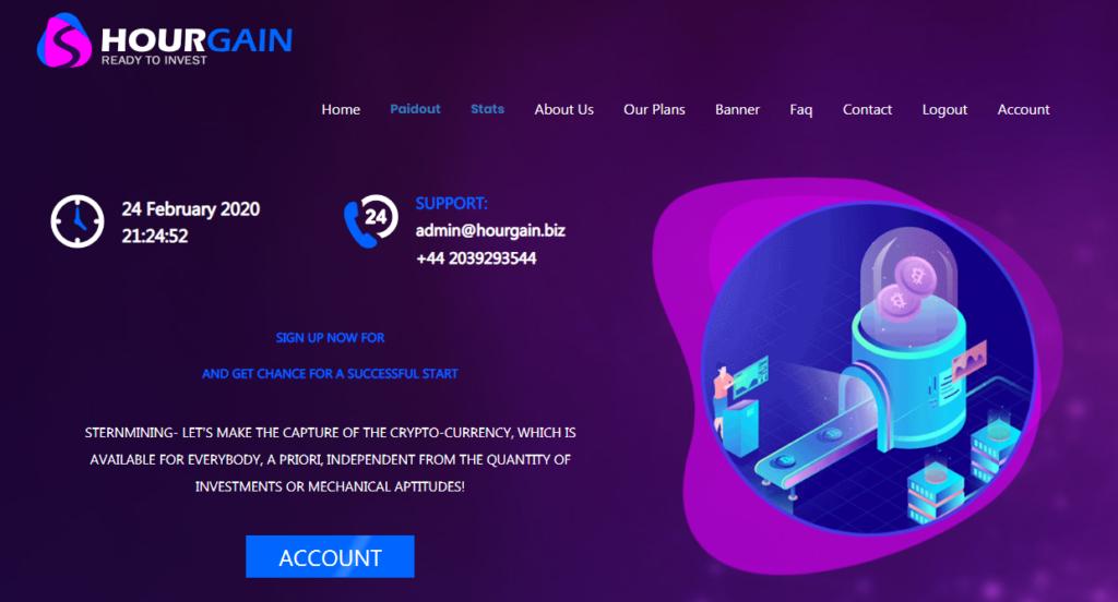 Hourgain.biz - Среднедоходный инвестиционный проект