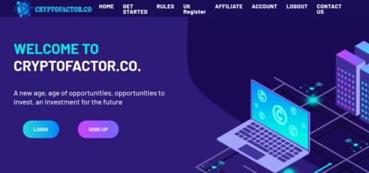 Cryptofactor.co - Хайп с почасовыми планами