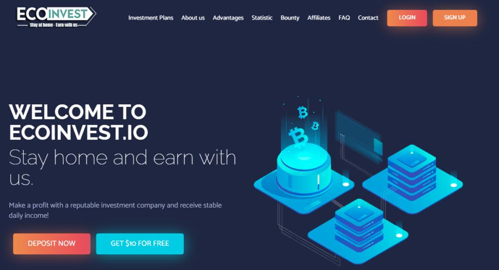 Ecoinvest.io - Среднедоходный хайп проект