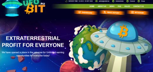 Ufobit.biz - Среднедоходный инвестиционный проект