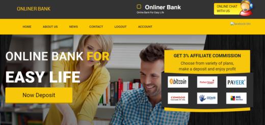 Onlinerbank.com - Хайп с почасовыми планами
