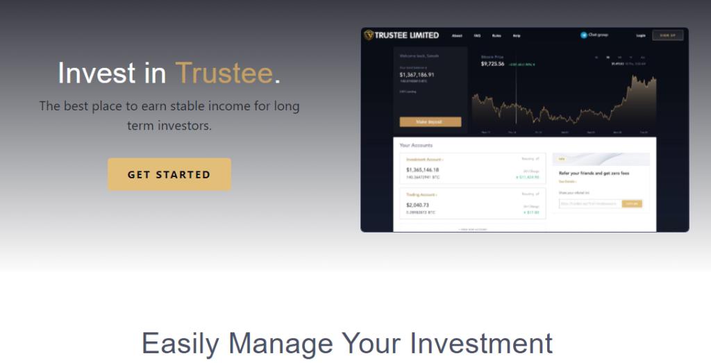 Trustee.vip - Хайп проект