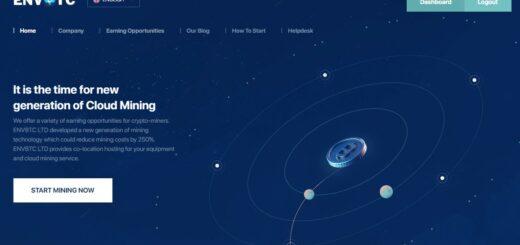 Envbtc.com - Облачный майнинг
