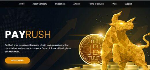 Payrush.io - Высокодоходный хайп проект