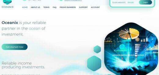 Oceanix.cc - Среднедоходный хайп проект