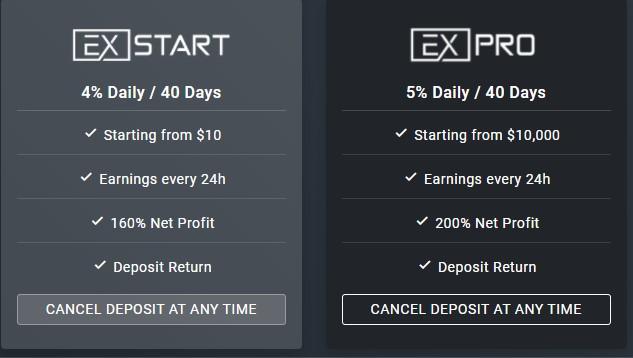 Exfunds - маркетинг проекта